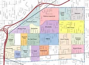 Neighborhoods In Map Image Gallery Indianapolis Neighborhood Map