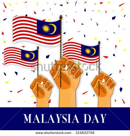 malaysia day merdeka stock vectors images vector