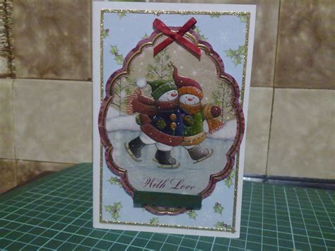 Card Decoupage - papercrafts cards decoupage card