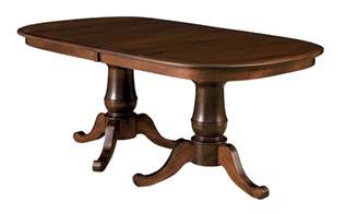Ebay Dining Room Tables Amish Double Pedestal Dining Table Traditional Solid Wood