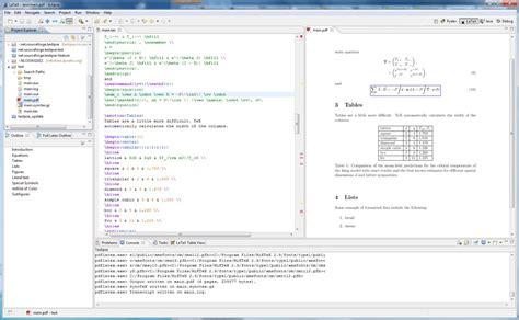tutorial latex editor big list latex editors ides tex latex stack exchange