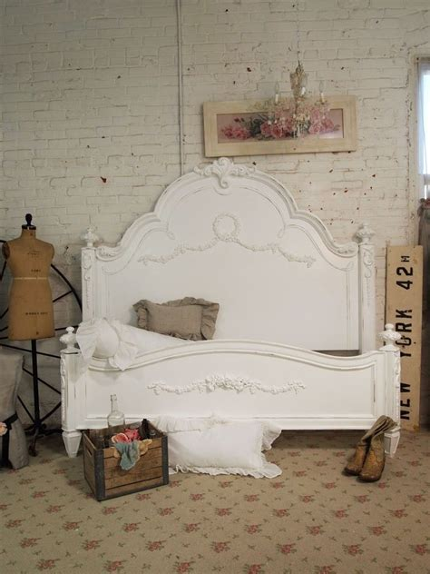 shabby chic bed frame rustic