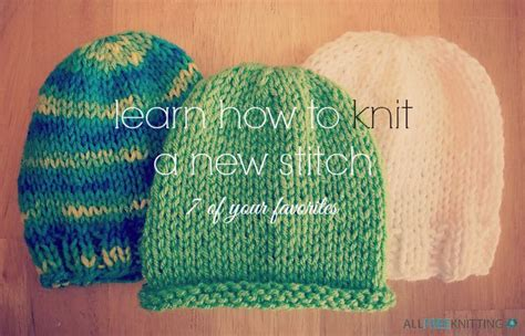 how to back stitch knitting learn how to knit a new stitch 7of your favorites back