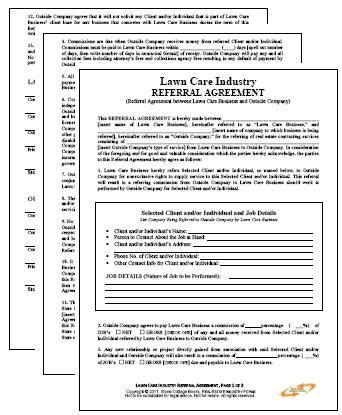 688 Best Best Legal Forms Images On Pinterest Free Printable Real Estate Forms And Sle Resume Lawn Care Service Contract Template