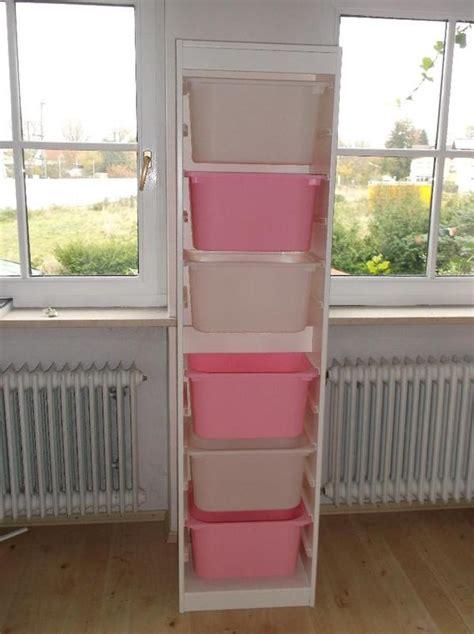 ikea hochregal ikea wei 223 es trofast regal inkl boxen rosa wei 223