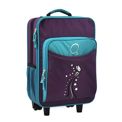 bed bath and beyond suitcases o3 kids luggage with integrated cooler in butterfly bed