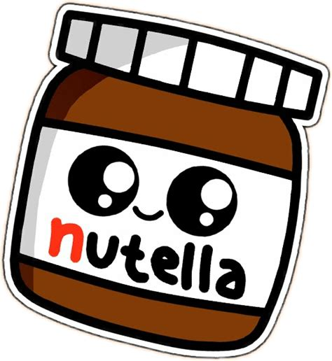 imagenes kawaii de nutella nutella kawaii pretty chocolate food cute