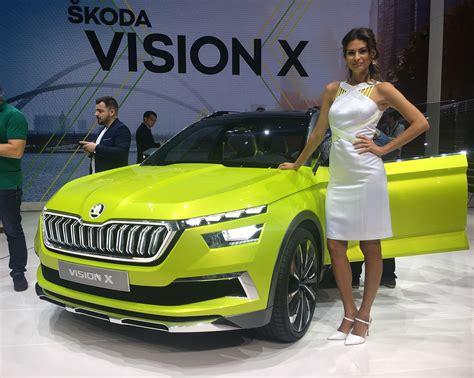 skoda vision  genewa   auto motor  sport