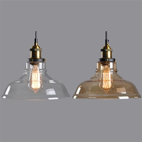 Retro Glass Pendant Lights Popular Clear Glass Pendant Light Shade Buy Cheap Clear Glass Pendant Light Shade Lots From
