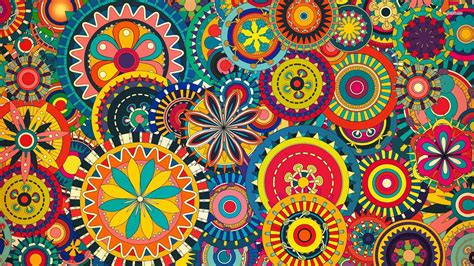 flower pattern hd wallpaper 14107 colorful floral pattern 1920x1080 vector wallpaper