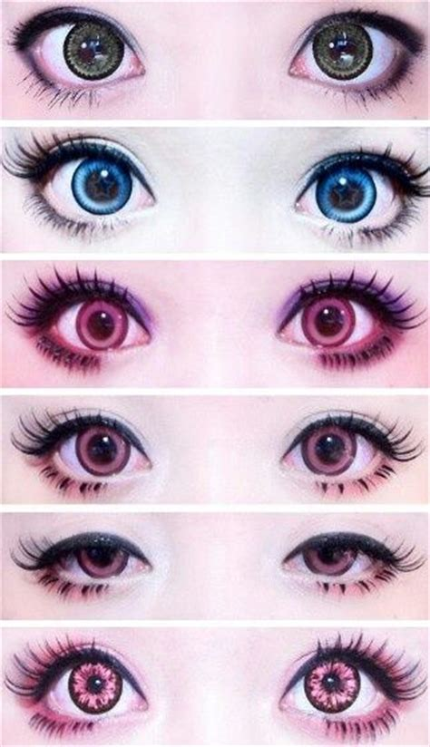 Softlens Kawaii Circle Softlense Pretty Doll circle lens cosmetic big eye colored contacts lenses from eyecandy s http www eyecandys