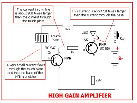 transistor high gain lifier 5 projects page 14