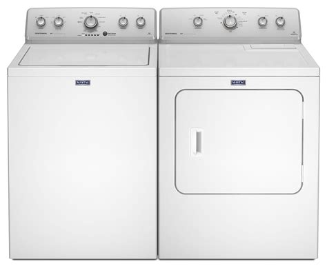 maytag 174 4 2 cu ft top load washing machine and 7 0 cu