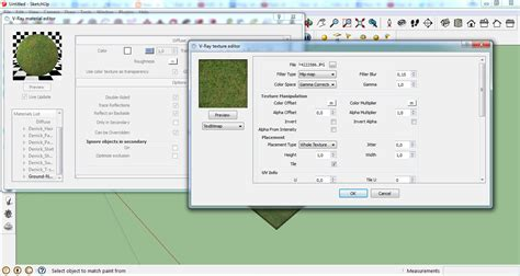 Sketchup Vray Material Editor Tutorial Pdf   architecture rendering quick realistic grass in sketchup