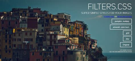layout css filters enabled css image filter