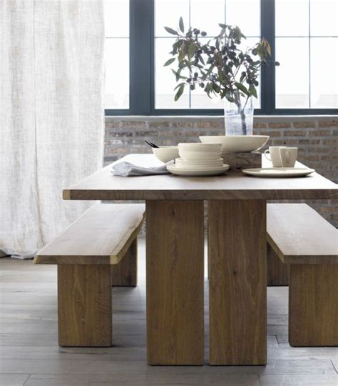 dakota 77 quot dining table in dining tables crate and