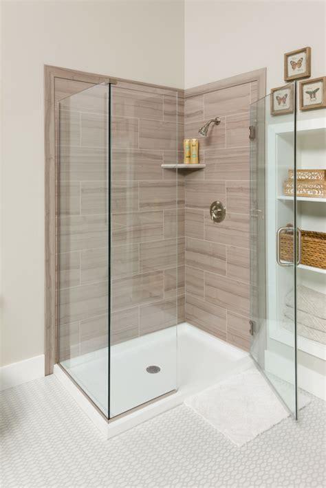 Bathroom Shower Panels Shower Surround Elevate Shower Wall Surround American Standard 100 Tile Bathroom Shower Wall