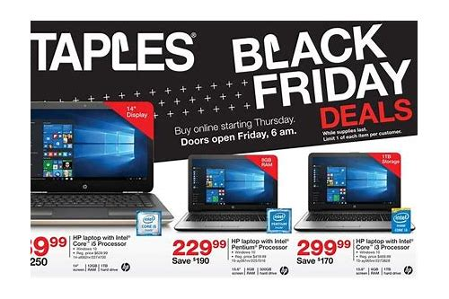 best deals on laptops staples