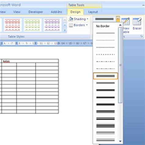 membuat garis html membuat garis double pada tabel tips dan tutorial