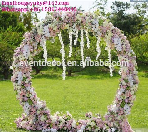 Wedding Arch Circular by Flower Arch Stand Metal Wedding Arch For Weddings