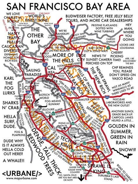 san francisco neighborhood map pdf san francisco bay area culture map urbane map store