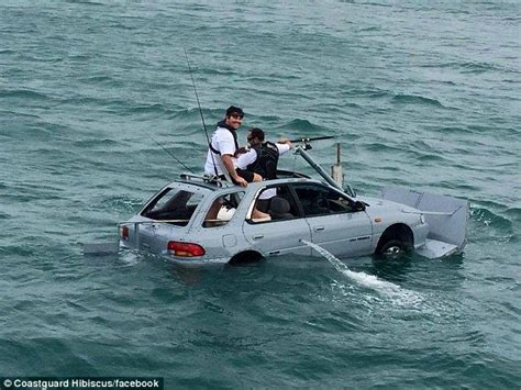 boat crash auckland crazy auckland boat race sees a floating suburu take to