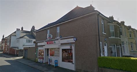 plymouth report robbery reports at spar shop in plymouth plymouth herald
