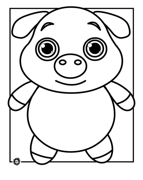 70 Animal Colouring Pages Free Download Print Free Piggy Coloring Pages