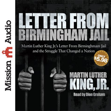 Letter From Birmingham Letter From Birmingham By Martin Luther King Jr Audiobook Christian Audiobooks
