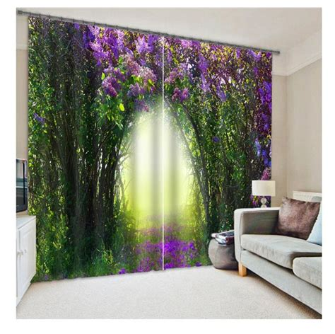 Blackout Curtains 3d Curtain Set For Bedroom Living Room Curtain Sets Living Room