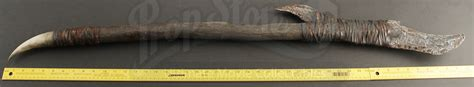 sided spear ogres sided spear weapon prop store ultimate