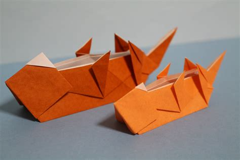 Otter Origami - otter origami 28 images origami l shade stowed