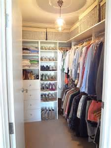 The Walking Closet by 20 Small Walk In Closet Ideas Makeovers The