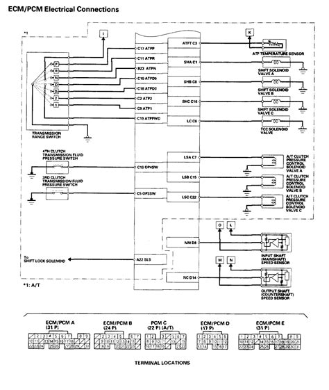 2005 honda accord ecu wiring diagram wiring diagram manual