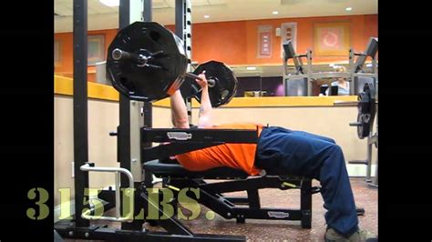 bench press 315 315 lb bench press 215 lb military press at 52 youtube