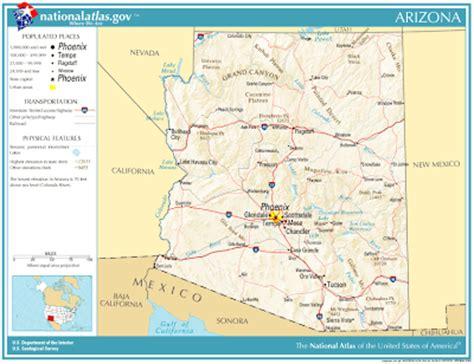 map us governors 2 kaart verenigde staten west kaart arizona en