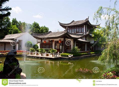 casa china chinees huis stock foto afbeelding bestaande uit