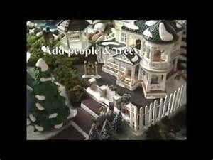 sandi s how to make a christmas village display youtube