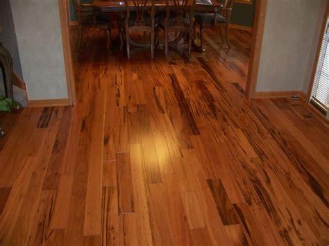 tigerwood hardwood flooring family room minneapolis    hardwood tile