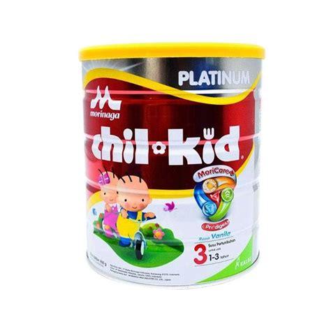 Chil Kid Platinum jual morinaga chil kid platinum moricare tahap 3 formula vanila 1 3 tahun 800 g