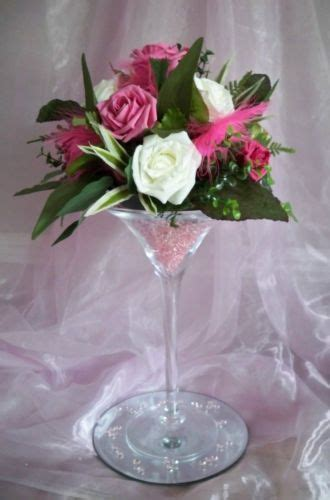 Martini Vase Centrepiece by For Hire Martini Glass Vase Centrepiece Wedding