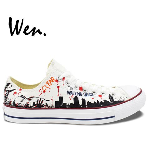 the walking store shoes aliexpress buy wen white painted casual shoes