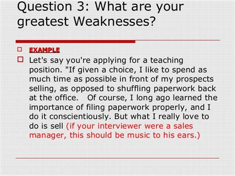 list of strengths and weaknesses for job interview template