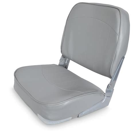 low back fold down boat seat 640161 fold down seats at - Back To Back Fold Down Boat Seats