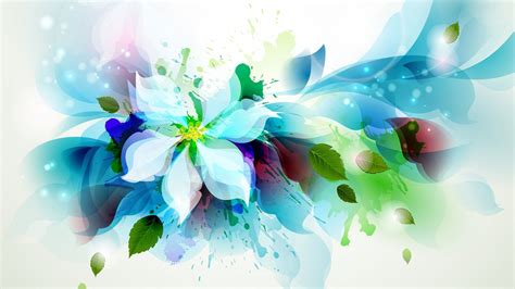 wallpaper flower art abstract flower backgrounds 4k download