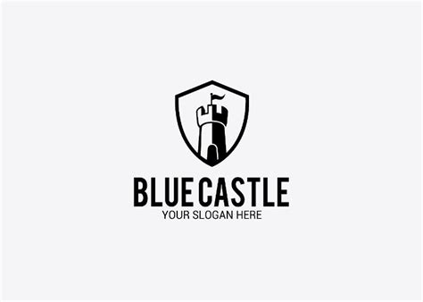 logo castle template   Graphic Cloud