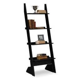 Leaning Ladder Bookcases Plantation Cove Leaning Bookshelf American Signature Furniture