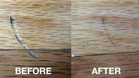 Hardwood Floor Scratch Repair Remove Scratches And Dents In Hardwood Floors With An Iron
