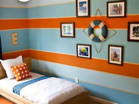 blue and orange bedroom ideas wall painting stripes on walls ideas painting stripes on