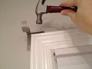 no drill curtain rod brackets f i n a l l y a reveal post no drill curtain rod